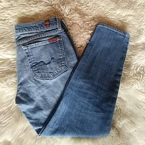 7 SEVEN FOR ALL MANKIND Capri Jeans Size 28